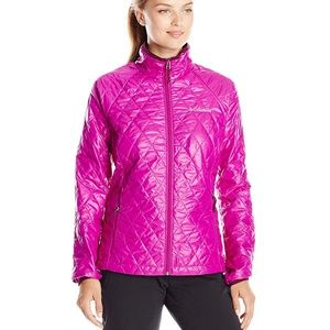 Columbia Women Size M Purple Squaw Butte Jacket
